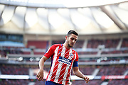 Atletico Madrid's Spanish midfielder Koke reacts during the Spanish championship Liga football match between Atletico Madrid and Athletic Bilbao on february 18, 2018 at the Metropolitano stadium in Madrid, Spain - Photo Benjamin Cremel / ProSportsImages / DPPI