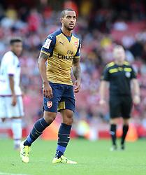 Theo Walcott of Arsenal  - Mandatory by-line: Joe Meredith/JMP - 25/07/2015 - SPORT - FOOTBALL - London,England - Emirates Stadium - Arsenal v Lyon - Emirates Cup