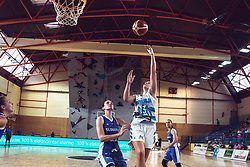 Zala Friskovec of Slovenia  during Women's Basketball - Slovenia vs Slovaska on the 14th of June 2019, Dvorana Poden, Skofja Loka, Slovenia. Photo by Matic Ritonja / Sportida