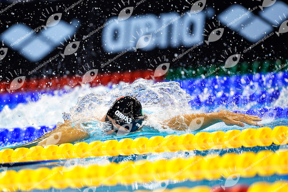 Andrea Mitchell D'Arrigo Italia 200m Freestyle <br /> Swimming<br /> 32nd LEN European Championships  <br /> Berlin, Germany 2014  Aug.13 th - Aug. 24 th<br /> Day07 - Aug. 19<br /> Photo Andrea Staccioli/Deepbluemedia/Insidefoto