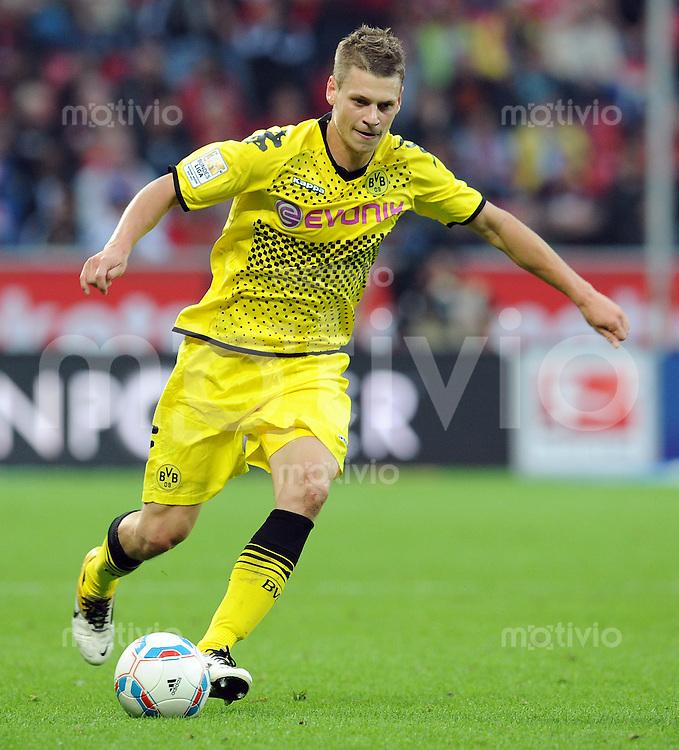 FUSSBALL   1. BUNDESLIGA   SAISON 2011/2012    4. SPIELTAG Bayer 04 Leverkusen - Borussia Dortmund              27.08.2011 Lukasz PISZCZEK (Borussia Dortmund)