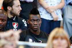 Christian Atsu of AFC Bournemouth sits AFC Bournemouth opening game out - Mandatory by-line: Jason Brown/JMP - Mobile 07966 386802 08/08/2015 - FOOTBALL - Bournemouth, Vitality Stadium - AFC Bournemouth v Aston Villa - Barclays Premier League - Season opener
