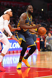 STYLEPREPENDLOS ANGELES, CA - NOVEMBER 12: Golden State Warriors Forward Draymond Green (23) looks to make a pass during a NBA game between the Golden State Warriors and the Los Angeles Clippers on November 12, 2018 at STAPLES Center in Los Angeles, CA. (Photo by Brian Rothmuller/Icon Sportswire) (Credit Image: © Brian Rothmuller/Icon SMI via ZUMA Press)