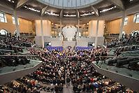 12 FEB 2017, BERLIN/GERMANY:<br /> Uebersicht waehrend der Abstimmung, 16. Bundesversammlung zur Wahl des Bundespraesidenten, Reichstagsgebaeude, Deutscher Bundestag<br /> IMAGE: 20170212-02-081<br /> KEYWORDS: &Uuml;bersicht