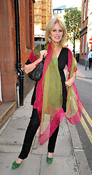 JOANNA LUMLEY at the launch party of the Elephant Parade held at 23 Macklin Street, London on 23rd June 2009.