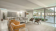 Rowland Residence, Rancho Mirage, California | C Barlund, Architect, 1964