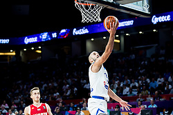 Nick Calathes of Greece during basketball match between National Teams of Greece and Russia at Day 14 in Round of 16 of the FIBA EuroBasket 2017 at Sinan Erdem Dome in Istanbul, Turkey on September 13, 2017. Photo by Vid Ponikvar / Sportida