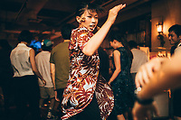 Nude Restaurant's 23rd anniverary Northern Soul party at Jam Jam underground music club in Kobe, Japan.