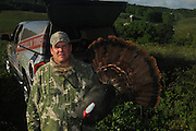 """""""The Spring Gobbler"""" turkey hunting season in Augusta County, Virginia with Max Rowe, 42, of the Cable TV hunting programme """"Just Kill'n Time TV"""", and Freddy McGuire, who, according to Max, is """"the best Turkey hunter I know""""..The turkey season starts in mid-April and lasts for six weeks."""