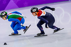 17-02-2018 KOR: Olympic Games day 8, PyeongChang<br /> 1500 m / Arianna Fontana of Italy, Jorien Ter Mors of the Netherlands