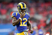 LA Rams Wide Receiver Brandin Cooks (12) during the International Series match between Los Angeles Rams and Cincinnati Bengals at Wembley Stadium, London, England on 27 October 2019.