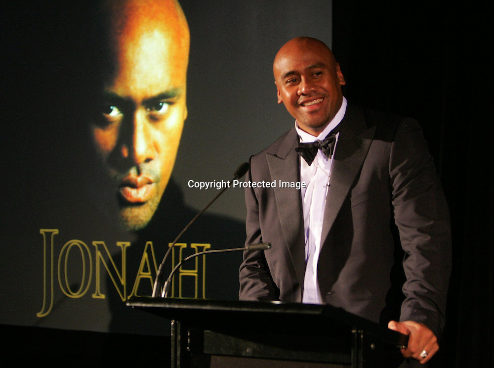 3rd May 2004. Rugby Union, Jonah Lomu Book Launch, Auckland, New Zealand.<br />Jonah Lomu<br />Please credit: Andrew Cornaga/ Photosport