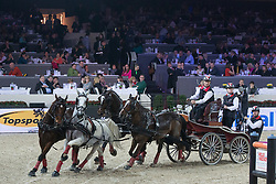 Ulrich Werner (SUI)<br /> FEI World Cup Driving<br /> Flanders Christmas Jumping - Mechelen 2012<br /> © Dirk Caremans