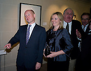 WILLIAM HAGUE; FFION HAGUE, Master and Commanders by Andrew Roberts book launch. Sotheby's Bond Street . London. 13 October 2008 *** Local Caption *** -DO NOT ARCHIVE -Copyright Photograph by Dafydd Jones. 248 Clapham Rd. London SW9 0PZ. Tel 0207 820 0771. www.dafjones.com