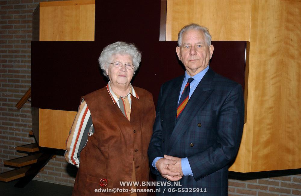 Kostersechtpaar Lambert Kos Christelijk Gereformeerde Kerk huizen neemt na 40 jaar afscheid