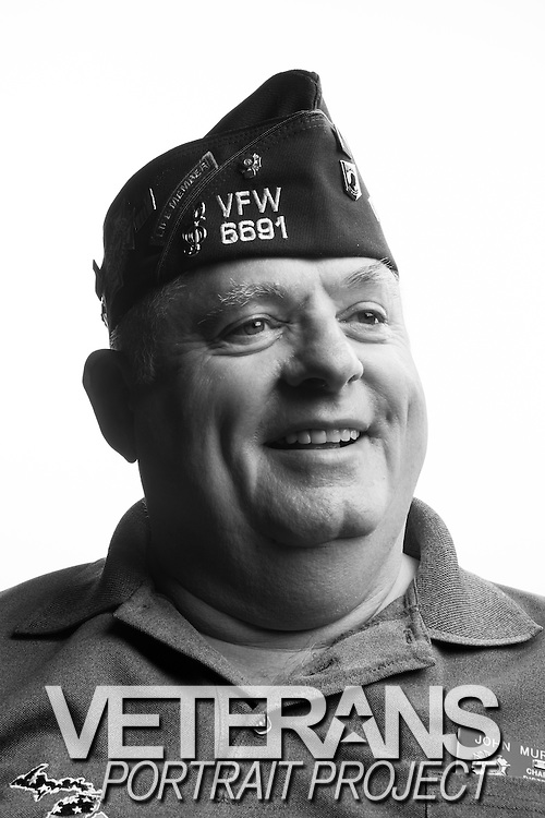 John Paul Murphy<br /> Navy<br /> Petty Officer 2nd Class<br /> Radioman<br /> Feb. 2969 - Mar. 1975<br /> Vietnam<br /> <br /> Veterans Portrait Project<br /> Louisville, KY<br /> VFW Convention <br /> (Photos by Stacy L. Pearsall)