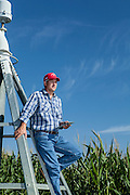 2012 August 17- Agricultural equipment, facilities, and land are photographed for FMC around Minden, Nebraska.