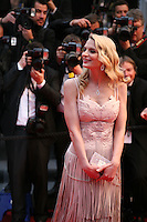 Sarah Marshall attending the gala screening of The Great Gatsby at the Cannes Film Festival on 15th May 2013, Cannes, France.