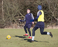 Jack Lambert of Dundee - Dundee FC training , Picture by David Young -