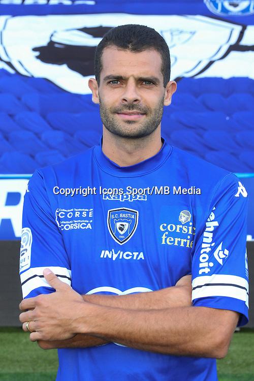 ILAN - 09.10.2013 - Photo officielle Bastia 2013/2014 - Ligue 1<br /> Photo : Icon Sport