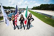 August 4-6, 2017: Lamborghini Super Trofeo at Road America. Lamborghini grid girls