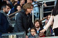 Jean SARKOZY / Solal SARKOZY  - 08.05.2015 -  PSG / Guingamp - 36eme journee de Ligue 1<br />Photo : Dave Winter / Icon Sport