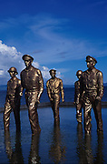 General MacArthur Memorial, Leyte Beach landing site from WWII, Leyte Island, Philippines