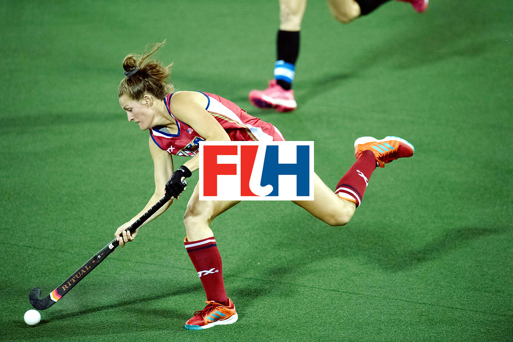 AUCKLAND - Sentinel Hockey World League final women<br /> Match id: 10300<br /> 10 New Zealand v USA<br /> Foto:  Lauren Moyer <br /> WORLDSPORTPICS COPYRIGHT FRANK UIJLENBROEK
