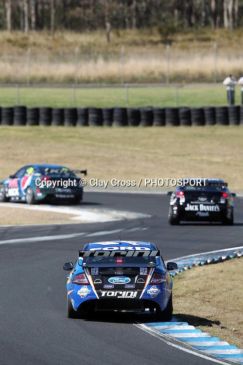 Shane Van Gisbergen (SP Tools Ford). Sydney Motorsport Park 360 ~ Race 18 2012 V8 Supercar Championship Series. Sydney Motorsport Park, Sydney on Saturday 25 August 2012. Photo: Clay Cross / photosport.co.nz