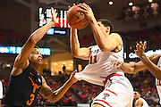 LUBBOCK, TX - MARCH 1: Zach Smith #11 of the Texas Tech Red Raiders grabs the rebound during the game against the Texas Longhorns on March 1, 2017 at United Supermarkets Arena in Lubbock, Texas. Texas Tech defeated Texas 67-57. (Photo by John Weast/Getty Images) *** Local Caption *** Zach Smith