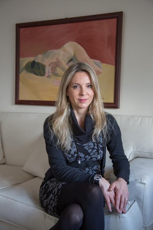 Saidima, una cliente del chirurgo plastico Athanasios Christopoulos.
