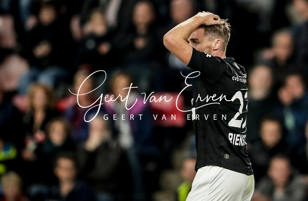 Ben Rienstra of Willem II dejected