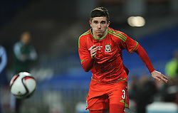 Declan John of Wales u21s (Cardiff City) - Photo mandatory by-line: Dougie Allward/JMP - Mobile: 07966 386802 - 31/03/2015 - SPORT - Football - Cardiff - Cardiff City Stadium - Wales v Bulgaria - U21s International Friendly