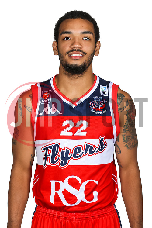 Adam Weary poses for a headshot during the Bristol Flyers Media Day - Rogan/JMP - 16/09/2017 - Ashton Gate Stadium - Bristol, England.