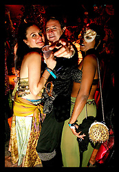 Feb 25th, 2006. New Orleans, Louisiana. Mardi Gras.  Invitation only Mom's Ball. Themed the 'The Shriek of Arabi,' Mom's ball is always guaranteed to produce some of the wildest costumes at one of the wildest parties in the world. No I'd's. General, guests at the ball.