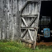 A stash of classics in a barn, Lynchburg, <br /> Virginia, 2017.