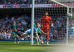 Phil Foden of Manchester City (C) scores his sides first goal - Mandatory by-line: Jack Phillips/JMP - 20/04/2019 - FOOTBALL - Etihad Stadium - Manchester, England - Manchester City v Tottenham Hotspur - English Premier League