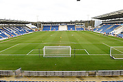 weston homes community stadium during the EFL Sky Bet League 2 match between Colchester United and Hartlepool United at the Weston Homes Community Stadium, Colchester, England on 25 February 2017. Photo by Ian  Muir.