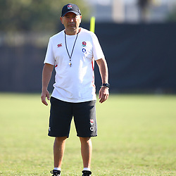 Eddie Jones (Head Coach) of England during the England Rugby training session at Jonsson Kings Park Stadium,Durban.South Africa. 13,06,2018 Photo by (Steve Haag JMP)