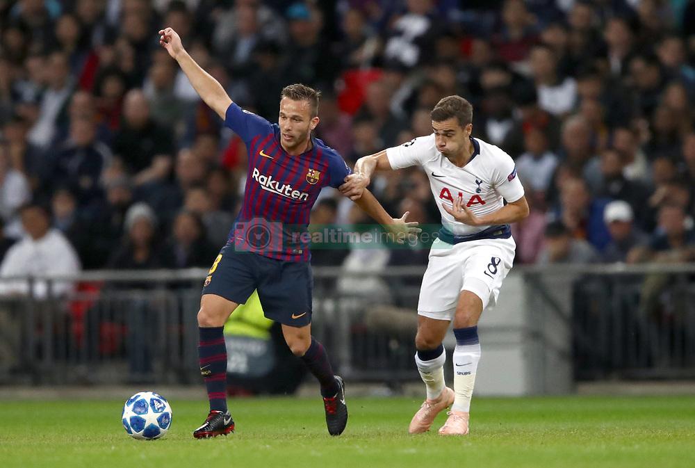 صور مباراة : توتنهام - برشلونة 2-4 ( 03-10-2018 )  38927714