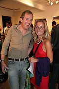 Hugo Rittson-thomas and Virginia Dampsta, Anticipation.- Produced by Flora Fairbairn. Curated by Kay Saatchi and Catriona Warren. 111 Great Titchfield St. London W1. 23 May 2007.  -DO NOT ARCHIVE-© Copyright Photograph by Dafydd Jones. 248 Clapham Rd. London SW9 0PZ. Tel 0207 820 0771. www.dafjones.com.