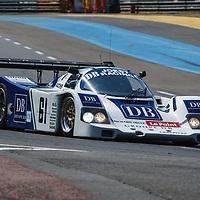 #61, Porsche 962 (1989), driver: Max von Braunmuehl, Group C, on 07/07/2018 at Le Mans Classic, 2018