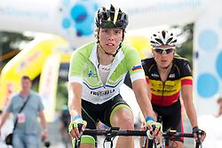 Groselj Ziga of Slovenia during Stage 1 of 23rd Tour of Slovenia 2016 / Tour de Slovenie from Ljubljana to Koper/Capodistria (177,8 km) cycling race on June 16, 2016 in Slovenia. Photo by Vid Ponikvar / Sportida