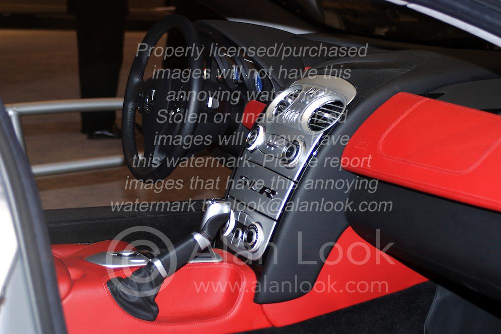 2005 CATA (Chicago Auto Show), interior of Mercedes Benz Concept car