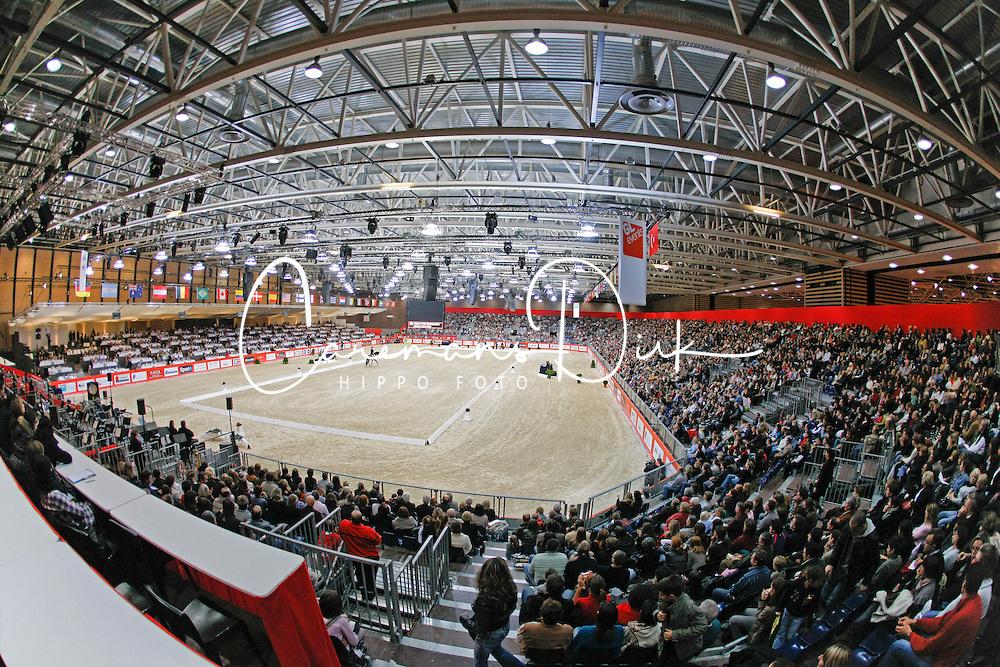 Dressage arena oversight<br /> CDI-W Lyon 2009<br /> © Dirk Caremans