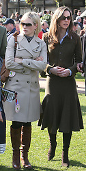 Kate Middleton and Zara Phillips at the Cheltenham Festival in 2007.    Photo by: Stephen Lock / i-Images