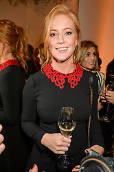 Sarah-Jane Mee at the launch of the new J&M Davidson flagship shop at 104 Mount Street, London on 3rd February 2016.