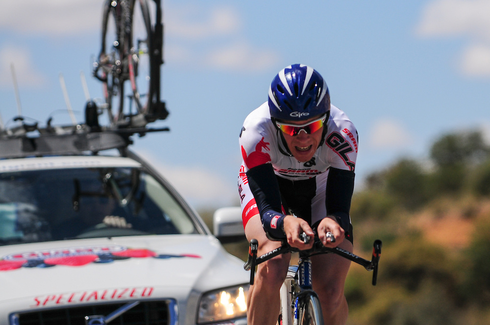 Andrew Talansky racing at the 2010 Tour of the Gila