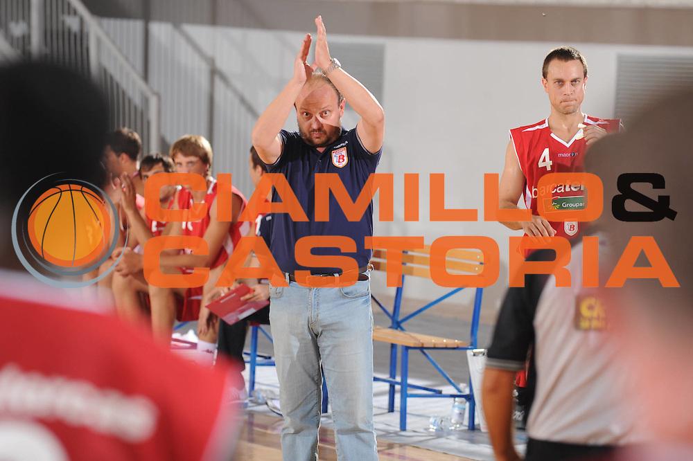 DESCRIZIONE : Urbino Lega A 2009-10 Basket Amichevole Scavolini Spar Pesaro Bancatercas Teramo<br /> GIOCATORE : Andrea Capobianco<br /> SQUADRA : Bancatercas Teramo<br /> EVENTO : Campionato Lega A 2009-2010 <br /> GARA : Scavolini Spar Pesaro Bancatercas Teramo<br /> DATA : 09/09/2009<br /> CATEGORIA : Ritratto<br /> SPORT : Pallacanestro <br /> AUTORE : Agenzia Ciamillo-Castoria/G.Ciamillo