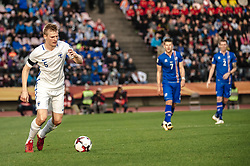 September 2, 2017 - Tampere, Finland - Finland's Juhani Ojala during the FIFA World Cup 2018 Group I football qualification match between Finland and Iceland in Tampere, Finland, on September 2, 2017. (Credit Image: © Antti Yrjonen/NurPhoto via ZUMA Press)